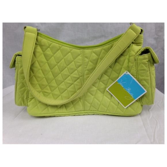 7a0c2c4ac7fdc Key Lime Green Pocket Hobo Shoulder Handbag NWT! NWT